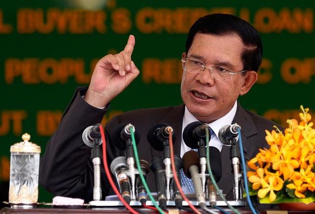 Thủ tướng Campuchia Hun Sen (Ảnh: Cambodiadaily)
