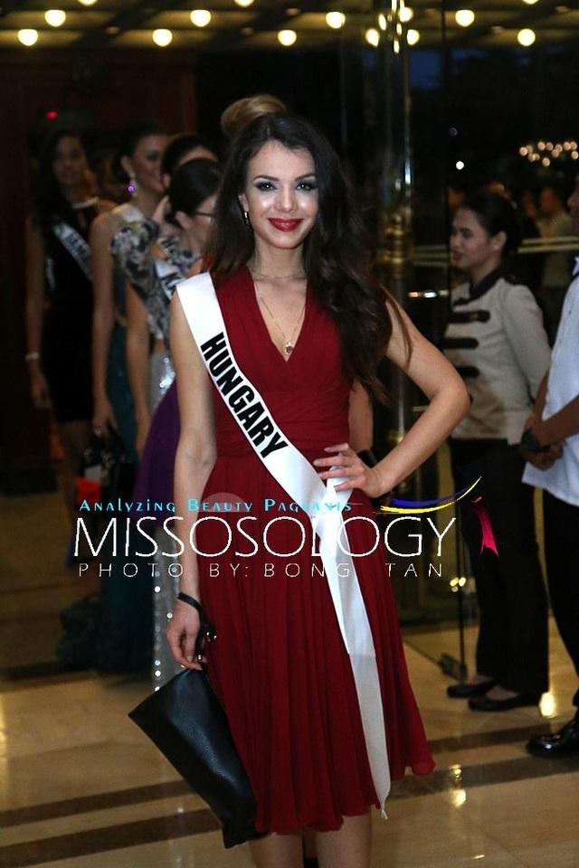 Lệ Hằng và các mỹ nhân khoe sắc trong tiệc tri ân Hoa hậu hoàn vũ 2015 - 50