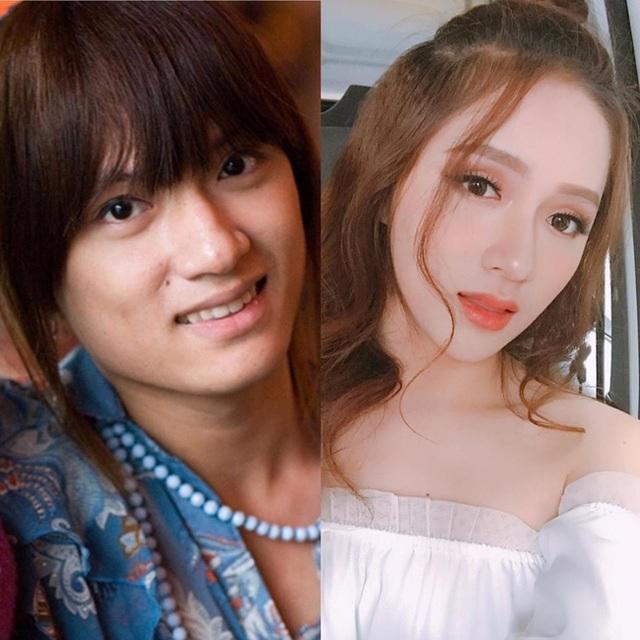 Bức ảnh bên trái là khi Hương Giang Idol chưa can thiệp quá nhiều dao kéo, bức ảnh bên phải là hình ảnh hiện tại, 2 bức ảnh cho thấy, nữ ca sĩ đã có một quá trình dậy thì thành công.