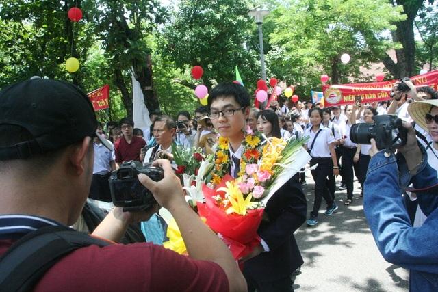 Trương Đông Hưng là thí sinh Việt Nam có thành tích điểm số thi Olympic Sinh học cao nhất từ trước đến nay.