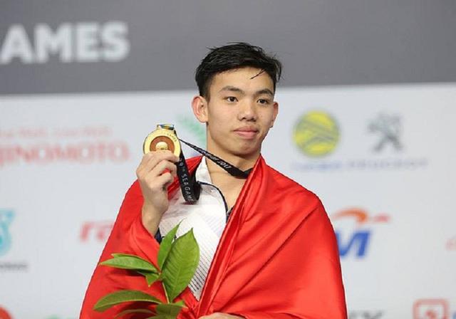 Huy Hoàng mới 17 tuổi, hứa hẹn là ngôi sao sáng trong tương lai của bơi lội Việt Nam