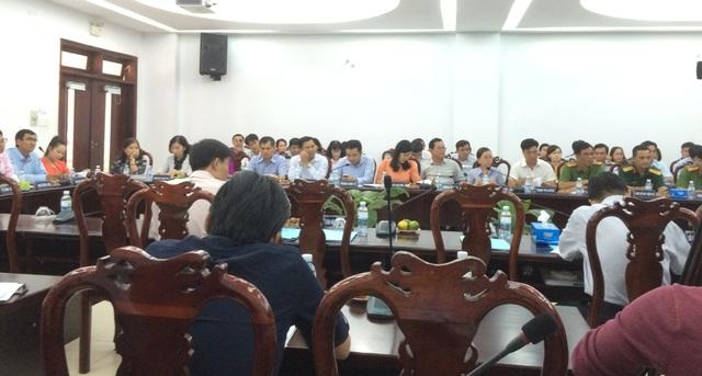 Lãnh đạo nhiều sở vắng mặt tại buổi làm việc với huyện Bình Chánh