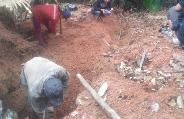 Tình trạng khai thác đá quý trên địa bàn mới diễn ra, nhưng Hạt kiểm lâm Thường Xuân khẳng định đã lâu