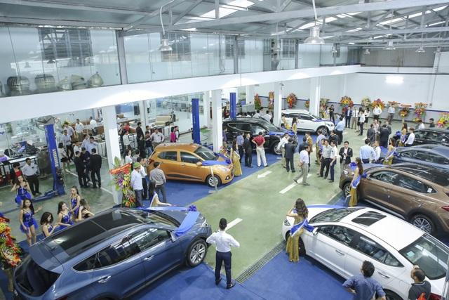 Khu xưởng dịch vụ Hyundai Hưng Yên