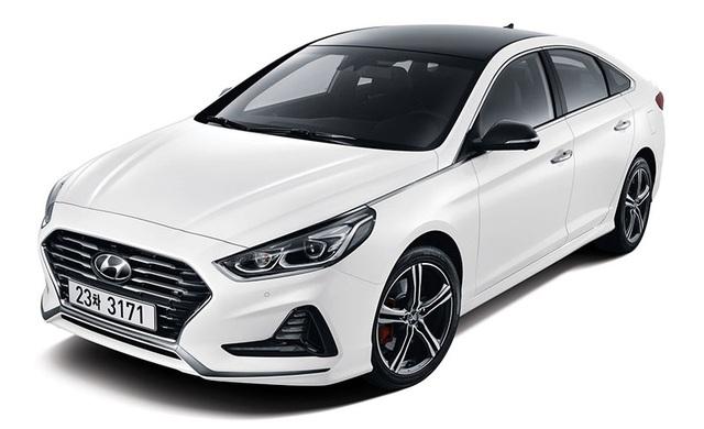 Hyundai Sonata phiên bản nâng cấp chính thức lộ diện - 5