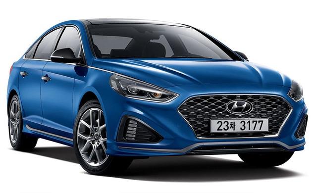 Hyundai Sonata phiên bản nâng cấp chính thức lộ diện - 3