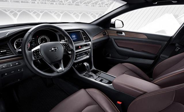Hyundai Sonata phiên bản nâng cấp chính thức lộ diện - 8
