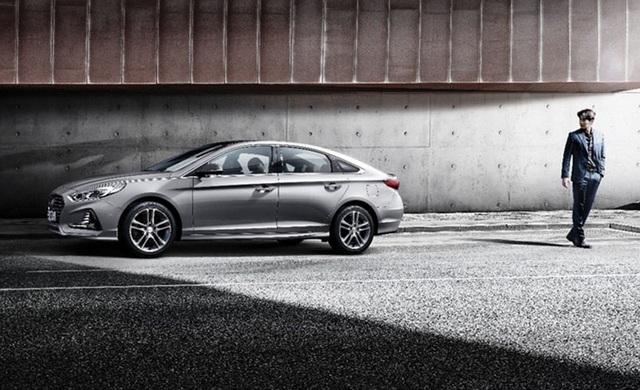 Hyundai Sonata phiên bản nâng cấp chính thức lộ diện - 7