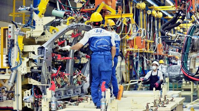 Giữa cơn bão xe nhập, Hyundai thành Công khẳng định sẽ xây dựng dây truyền xuất khẩu xe hơi sang ASEAN (ảnh minh hoạ)
