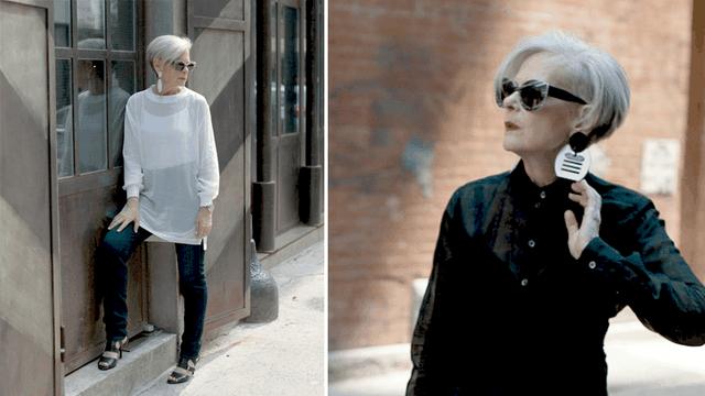 Con cái trưởng thành, sự nghiệp đã ổn định, Lyn Slater quyết định nghiên cứu thời trang một cách sâu sắc hơn. Gần như ngay lập tức bà nhận thấy sự khan hiếm của các blog được viết cho phụ nữ lớn tuổi