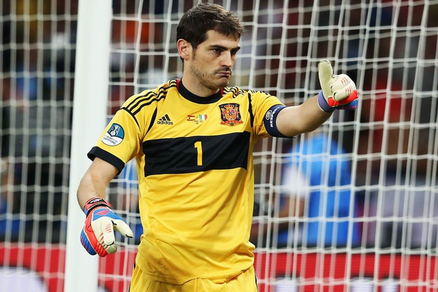 Iker Casillas là thủ môn xuất sắc nhất thế giới trong thế kỷ 21