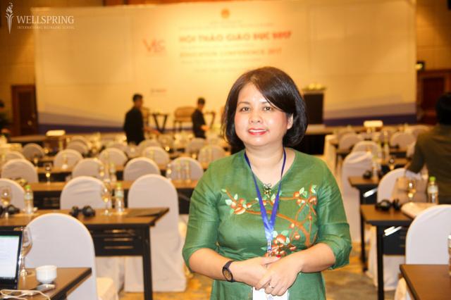 Thạc sĩ Lê Tuệ Minh kiến nghị Bộ GD&ĐT có khung pháp lý cũng như hướng dẫn cụ thể để các trường có thể tích hợp, lồng ghép chương trình tiên tiến của nước ngoài vào dạy - học.