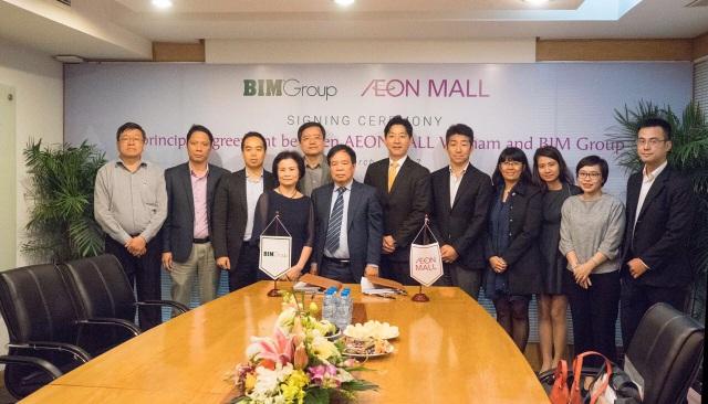 BIM Group ký kết hợp đồng hợp tác với AEONMALL Việt Nam - 2