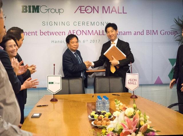 BIM Group ký kết hợp đồng hợp tác với AEONMALL Việt Nam - 1