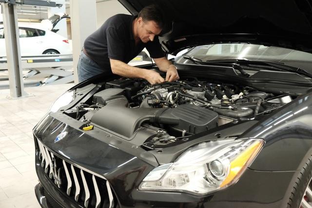 Chuyên gia người Ý Piero D'Alessandro với 20 năm kinh nghiệm làm việc tại Maserati trên thế giới