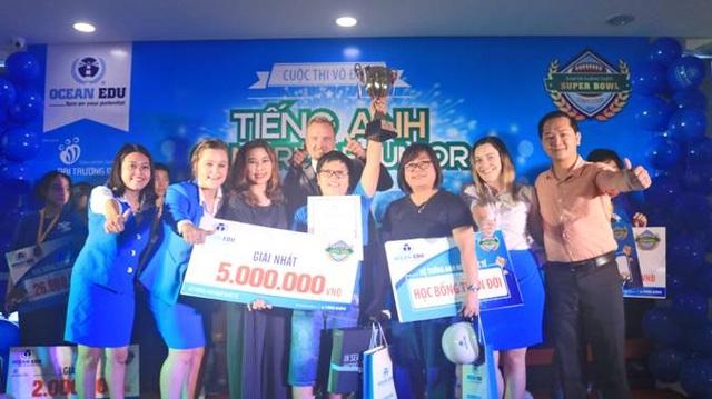 Giải Nhất thuộc về thí sinh Bùi Đức Huy đến từ thành phố Vinh - Nghệ An.
