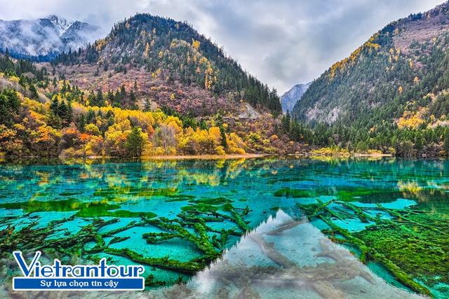 """Hồ Ngũ Hoa và những sắc màu của """"thiên đường"""" khi thu sang"""