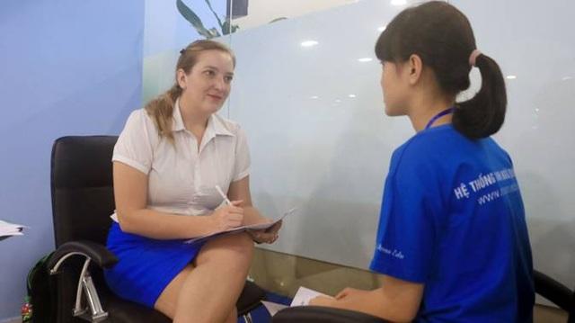 Bài thi được đánh giá bởi đội ngũ 100% giáo viên nước ngoài.