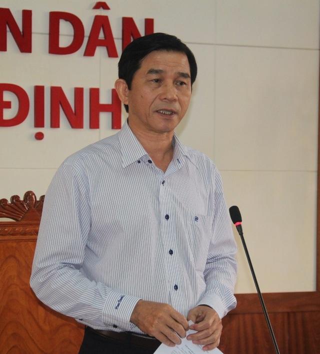 Phó Chủ tịch UBND tỉnh Bình Định Trần Châu nói sẽ tạo điều kiện hỗ trợ dân nếu ngư dân muốn khởi kiện cơ sở đóng tàu kém chất lượng ra tòa