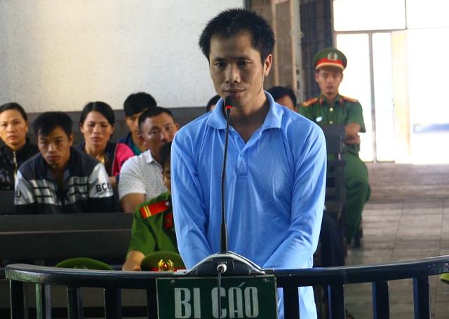 Bị cáo Thuận tại phiên tòa