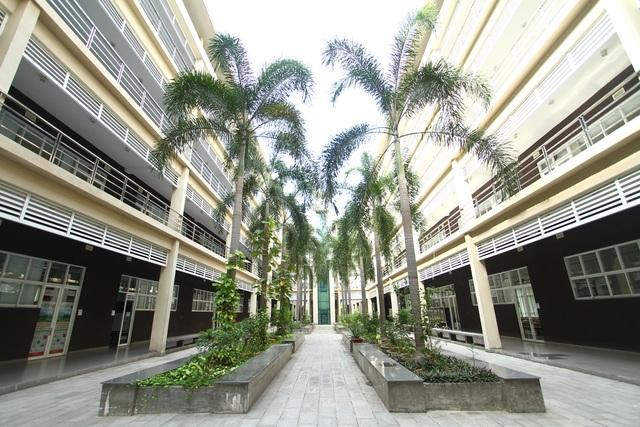 Khuôn viên trường ĐH Việt Đức