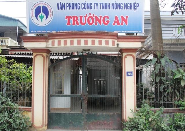Văn phòng Cty Trường An tại thị xã Bỉm Sơn, Thanh Hóa