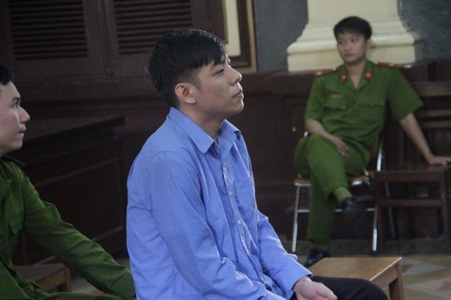 Bị cáo Sơn tại phiên tòa.
