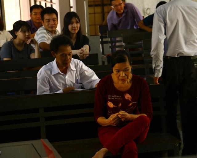 Bà Trương Thị Hoa tại phiên tòa