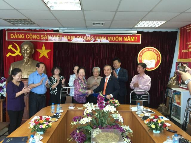 Chủ tịch Hội Khuyến học Việt Nam Nguyễn Thị Doan đã có buổi tiếp Hiệp hội Hợp tác Kinh tế Hàn Quốc – Đông Nam Á (KOAECA)
