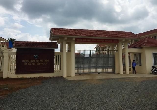 Trường THPT Dân tộc nội trú Ngọc Lặc