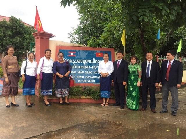 Đây là công trình do tỉnh Quảng Bình hỗ trợ xây dựng với giá trị 10 tỷ đồng