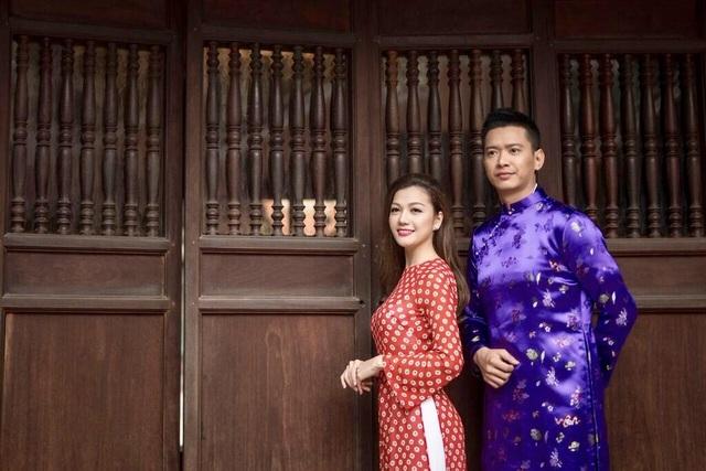 Hồ Đức Vĩnh điển trai bên hoa hậu phụ nữ người Việt quốc tế Thái Nhiên Phương