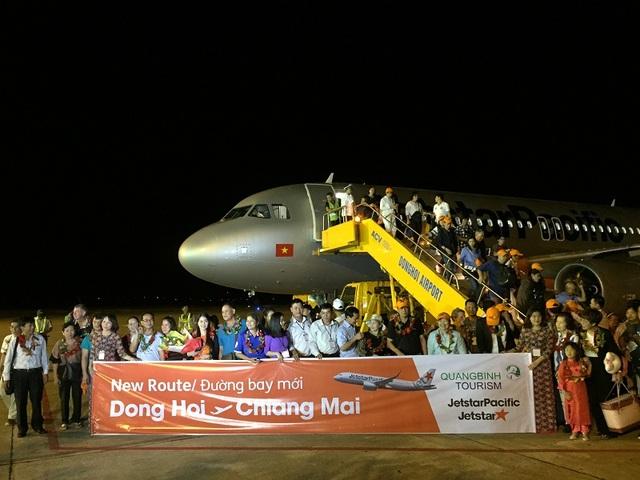 Việc mở đường bay thẳng đến Chiang Mai hứa hẹn sẽ thu hút được khách du lịch Thái Lan đến với Quảng Bình
