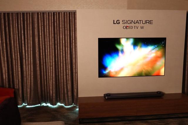 TV OLED mỏng dính của LG gây ấn tượng tại CES 2017 - 4