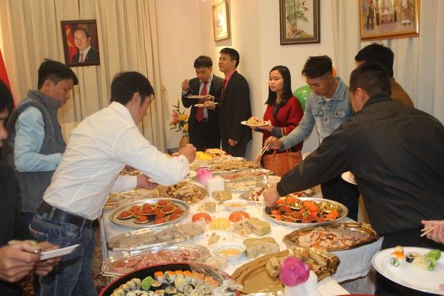 (Ảnh: Đại sứ quán Việt Nam tại Kuwait)