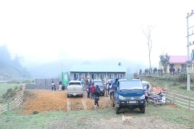 Điểm trường Mầm non Nà Đang khánh thành trước ngày Tết cổ truyền của dân tộc