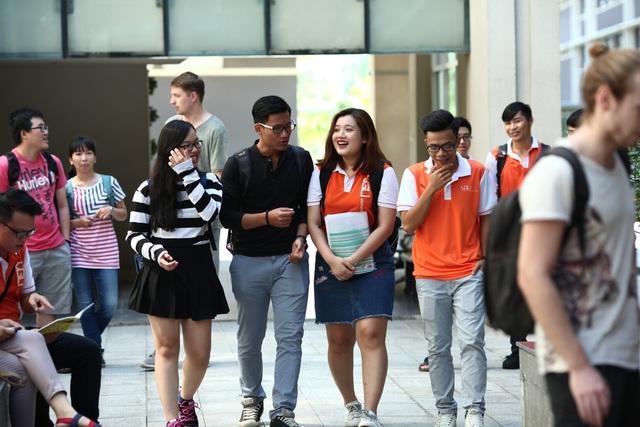 Sinh viên trường ĐH Việt Đức