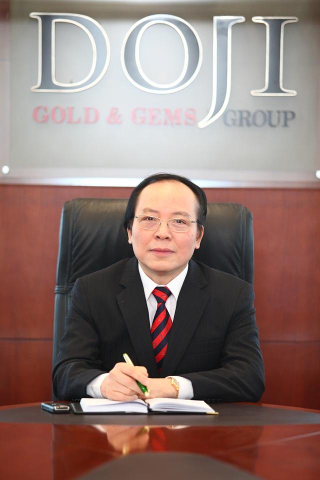 Ông Đỗ Minh Phú - Chủ tịch Công ty VBĐQ DOJI kiêm Chủ tịch Ngân hàng TMCP Tiên Phong