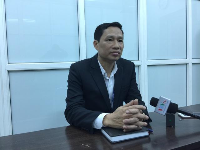 ông Đặng Xuân Hải- Phó Chủ tịch Phường Minh Khai. (ảnh: Mỹ Hà)