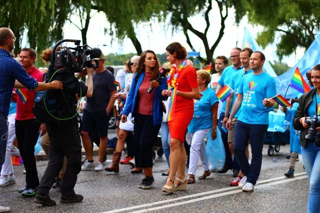 Sự kiện thu hút đông đảo giới truyền thông. Đài truyền hình Thuỵ Điển SVT và kênh 5 của Đài phát thanh Thuỵ Điển tường thuật trực tiếp sự kiện.