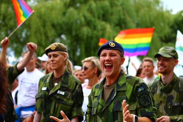 Cuộc diễu hành có sự tham gia của nhiều cơ quan của Thụy Điển như Bộ ngoại giao, Cơ quan phát triển quốc tế của Thuỵ Điển (SIDA), lực lượng cảnh sát, quân đội, Học viện Kỹ thuật Hoàng gia KTH...