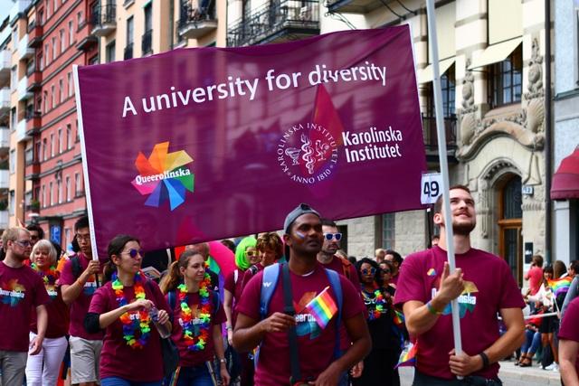 Stockholm Pride được xem là một lễ hội của sự bình đẳng, tình yêu và sự đa dạng tại đất nước Bắc Âu.