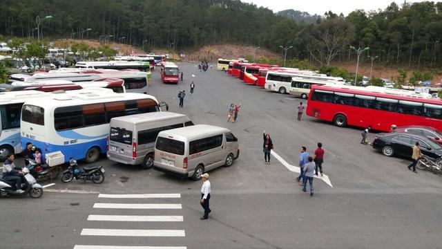 Bãi xe được mở rộng với sức chứa gấp đôi