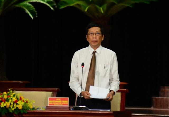 Ông Nguyễn Phước Trung - Giám đốc Sở Nông nghiệp và phát triển nông thôn TPHCM, cho biết đang nghiên cứu tổ chức 1 doanh nghiệp đầu mối để hỗ trợ nông dân TP tiêu thụ nông sản