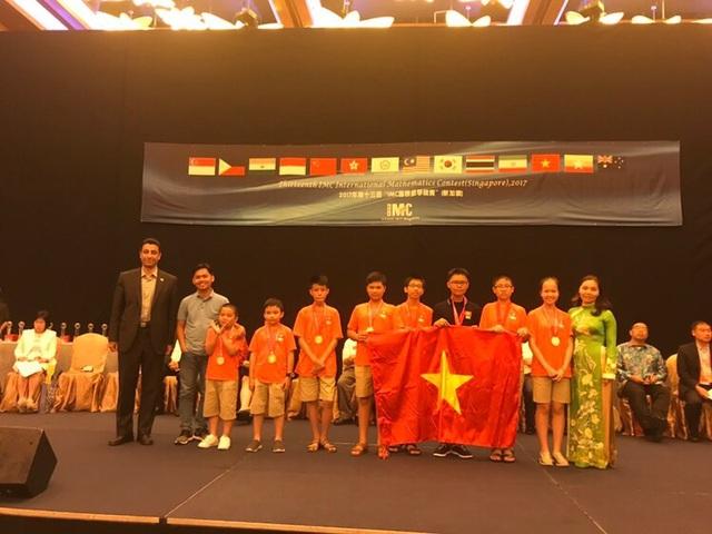 Học sinh Việt Nam đoạt 8 Huy chương vàng tại cuộc thi Toán quốc tế IMC - 2