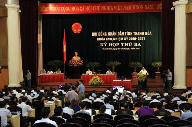 Kỳ họp thứ 3, HĐND tỉnh Thanh Hóa khóa XVII nhiệm kỳ 2016-2021