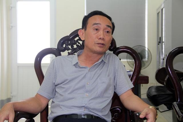 Ông Nguyễn Bá Du làm việc với PV Dân trí vào chiều ngày 14/7.