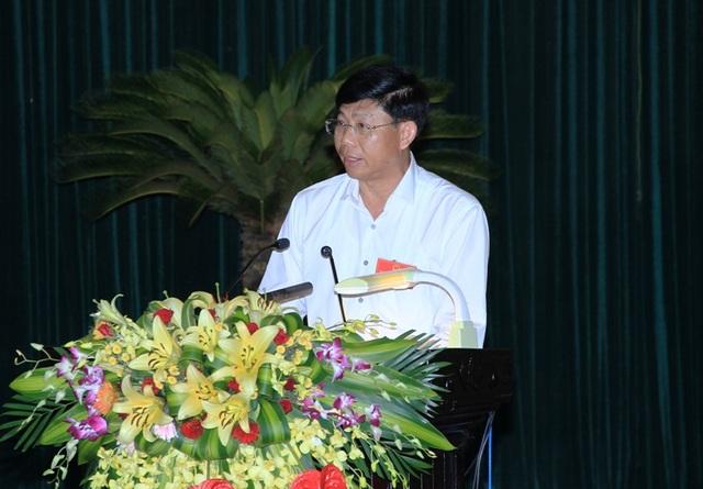 Ông Trần Văn Hải - Giám đốc Sở GTVT Thanh Hóa trả lời chất vấn