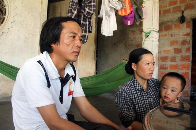 Anh Hùng và chị Hường tin tưởng công lý sẽ đứng về phía gia đình anh