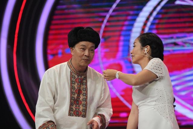 Nghệ sĩ Đức Hải và MC Ốc Thanh Vân. Ảnh: BTC.